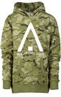 Wearcolour Patch Hoodie, Forest
