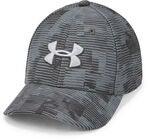 Under Armour Printed Blitzing 3.0 Baseballcap, Stealth Grey