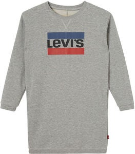 Levi's Kids Bondue Kleid, Light Grey