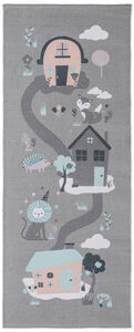 Alice & Fox Teppich Houses, Grey