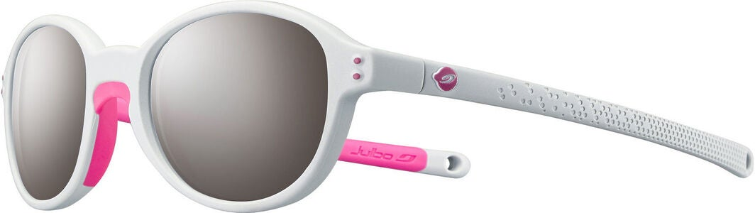 Julbo Frisbee Spectron Sonnenbrille, Light Grey/Fluo Pink