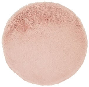 Alice & Fox Teppich Fake Fur, Pink