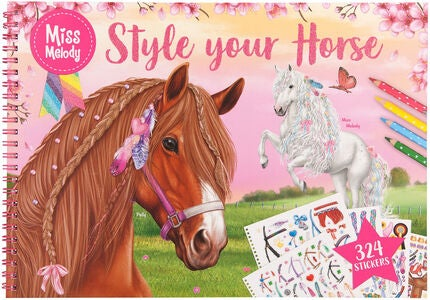 Miss Melody Malbuch Style Your Horse