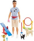 Barbie Ken Puppe Dog Trainer