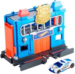 Hot Wheels City Downtown Police Station Breakout Spielset