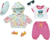 Baby Born Play & Fun Puppenkleider Deluxe Biker Outfit