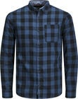 PRODUKT Graham Check Hemd, Blue Wing Teal