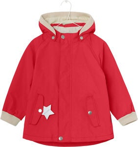 Mini A Ture Wally Regenjacke, Bitter Sweet Red