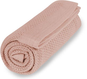 Vinter & Bloom Soft Decke EKO, Cloud Pink