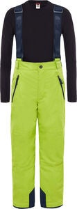 The North Face Snowquest Suspender Plus Thermohose, Lime Green