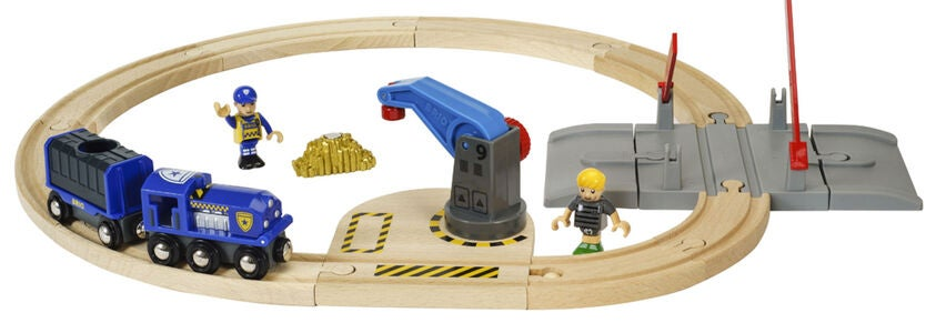 BRIO World 33812 Polizei Goldtransport-Set