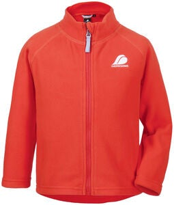 Didriksons Monte Fleecejacke, Poppy Red