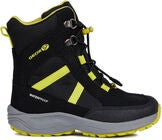 Geox New Alaska WPF Winterstiefel, Black/Lime