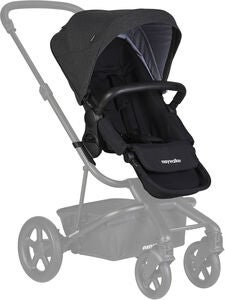 Easywalker Harvey 2 Geschwistersitz, Night Black