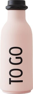 Design Letters To Go Wasserflasche, Rosa