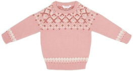 Luca & Lola Gennaio Pullover Baby, Pink