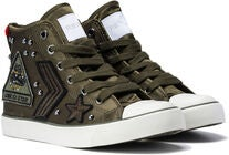 Replay Muddy Sneakers, Army Green