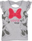 Disney Minnie Maus T-Shirt, Light Grey