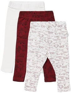 Luca & Lola Lexi Leggings 3er-Pack, Red