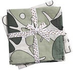 Done by Deer Tiny Tropics Decke 120x120 2er-Pack