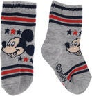 Disney Micky Maus Socken, Light Grey