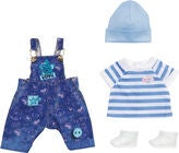 Baby Born Deluxe Jeans Dungaree Set, 43 cm