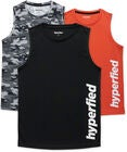 Hyperfied Bounce Tanktop 3er Pack, Black/Camo Black/Koi