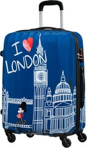 American Tourister Alfatwist Micky Maus Trolley 63 L, London