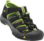 KEEN Newport H2 Little Kids Sandalen, Black/Lime Green