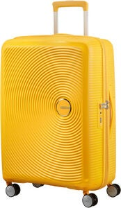 American Tourister Soundbox Spinner Reisetasche 71.5 l, Golden Yellow