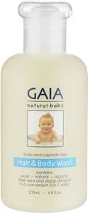 GAIA Baby Hair and Bodywash