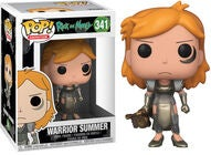POP! Rick and Morty Sammelfigur Warrior Summer