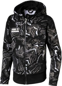 Puma Alpha Aop Sweat Jacke, Black