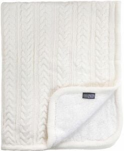 Vinter & Bloom Decke Cuddly, Ivory