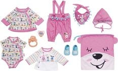 BABY Born Puppenkleidung Deluxe First Arrival Set 43 cm
