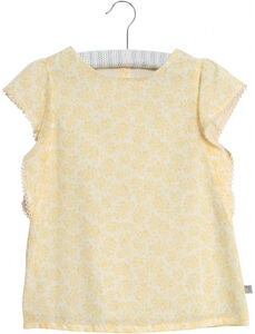 Wheat Alfi Bluse, Lemon Flowers