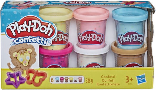 Play-Doh Knete Confetti Compound