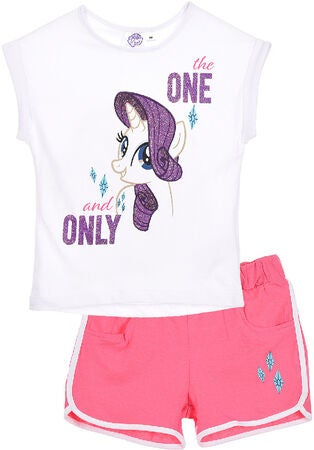 My Little Pony T-Shirt & Shorts, White
