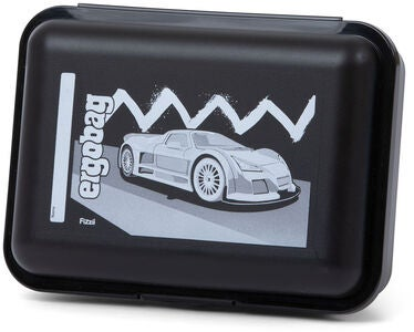 Ergobag HorsepowBear Lunchbox, Black White