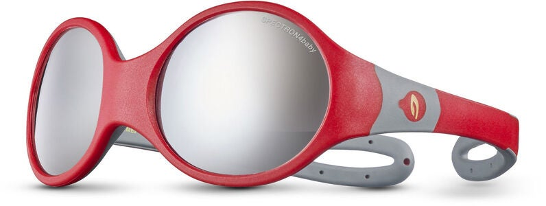 Julbo Loop L Spectron 4 Baby Sonnenbrille, Red/Grey
