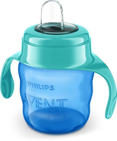 Philips Avent Classic Schnabeltasse 200 ml, Blue/Green