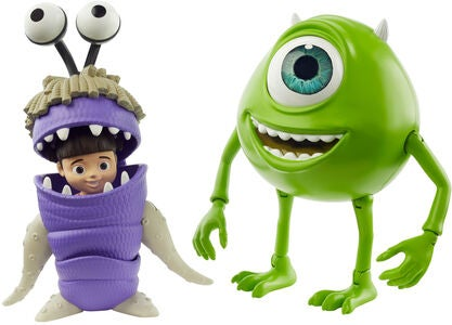 Disney Monsters Inc. Figuren Mike & Boo