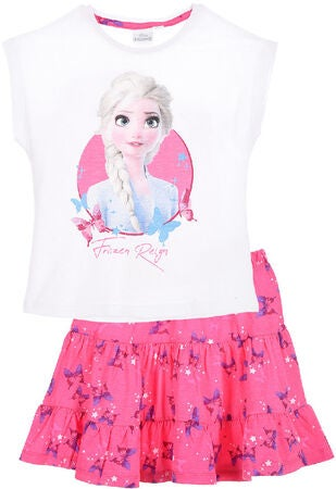 Disney Die Eiskönigin T-Shirt & Rock, White