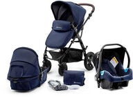 Kinderkraft Multipurpose 3-in-1 Moov Travelsystem, Navy