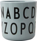 Design Letters Eat & Learn ABC Tasse Melamin, Green