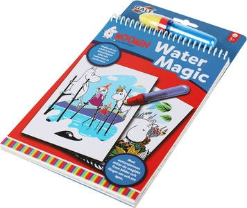 Mumin Water Magic Malbuch