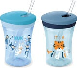 NUK Evolution Action Cup Becher, Blau