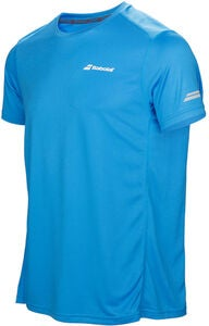 Babolat Core Flag Club Boy T-Shirt, Blau