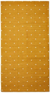 Alice & Fox Teppich Dotty, Mustard