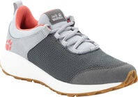 Jack Wolfskin Coogee Low Sneaker, Dark Grey/Rose